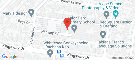 Location map for 24/6 Hensley Road Lalor