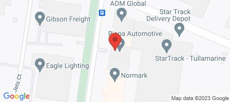 Location map for 9 Lambeck Drive Tullamarine
