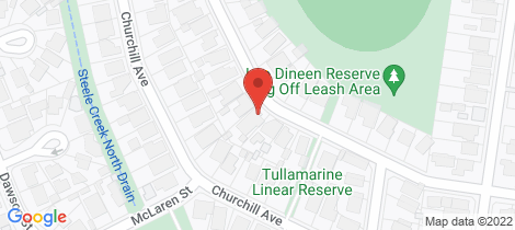 Location map for 33 Spring Street Tullamarine