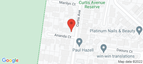 Location map for 15 Curtis Ave Watsonia