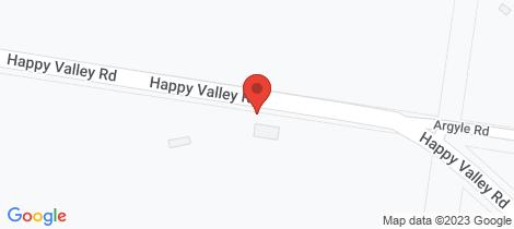 Location map for 180 Happy Valley Road Linton