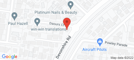 Location map for 15 Devonshire Road Watsonia