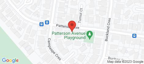 Location map for 74 Patterson Avenue Keilor