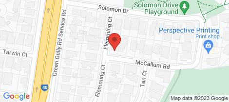 Location map for 2 Mc Callum Road Keilor