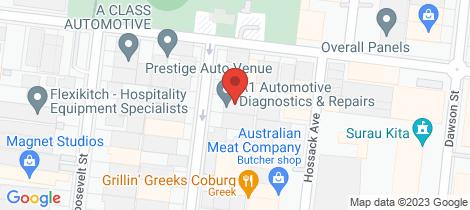 Location map for 24 Mercier Street Coburg