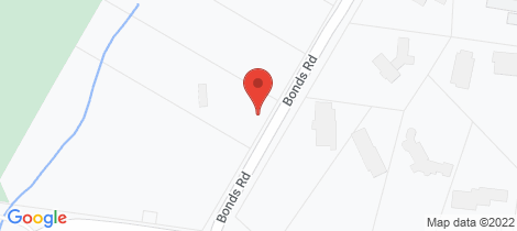 Location map for 117 - 123 Bonds Road Lower Plenty