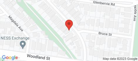 Location map for 7 Balmanno Crescent Strathmore