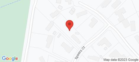 Location map for 19 Speers Court Warrandyte