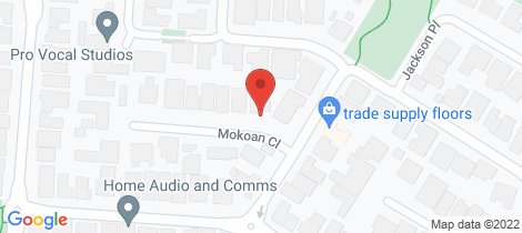 Location map for 15 Mokoan Close Caroline Springs