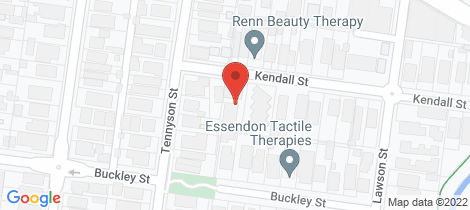 Location map for 4/2 Kendall Street Essendon
