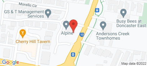Location map for 103 5 Red Hill Tce Doncaster East