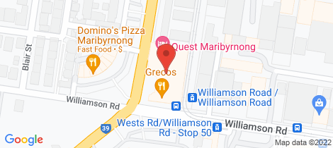 Location map for 4.04 2 Wests Road Maribyrnong