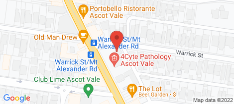 Location map for 484 Mt Alexander Road Ascot Vale