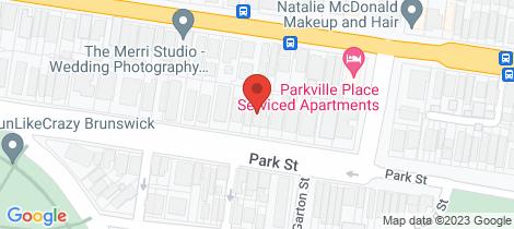 Location map for 665 Park Street Brunswick