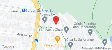 Location map for 36 La Scala Avenue Maribyrnong