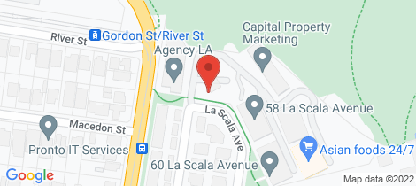 Location map for 305/54 La Scala Avenue Maribyrnong