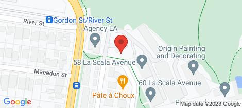 Location map for 209/4 La Scala Avenue Maribyrnong