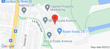 Location map for 303/30 La Scala Avenue Maribyrnong