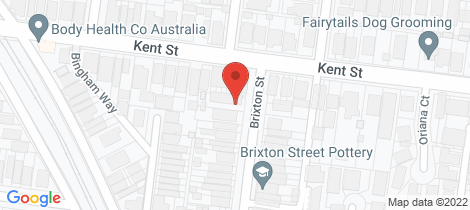Location map for 3/25 Brixton Street Flemington