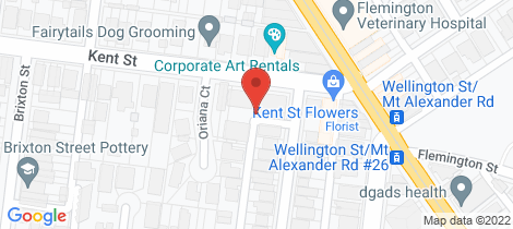 Location map for 5/7-13 Kent Street Ascot Vale