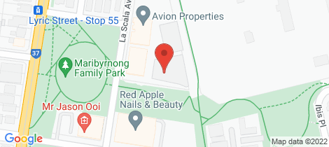Location map for 110/88 La Scala Maribyrnong