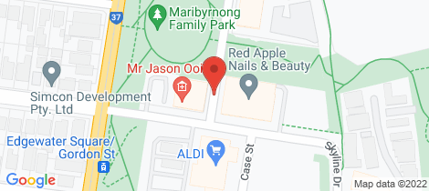 Location map for 108/84 La Scala Avenue Maribyrnong