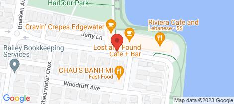 Location map for G19/55 Cumberland Drive Maribyrnong