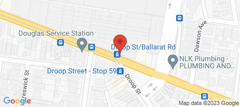 Location map for Lot 315 122 Ballarat Road Footscray