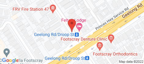 Location map for G5/61 Droop Street Footscray