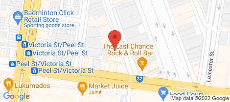 Location map for 309/9-13 Oconnell Street North Melbourne