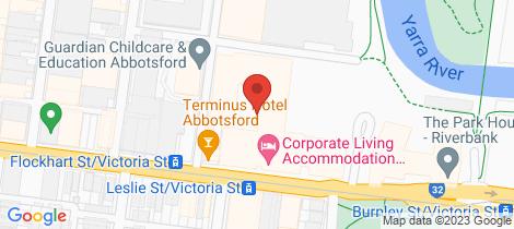 Location map for C607/11 Shamrock Street Abbotsford