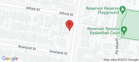 Location map for 13 Edward Street Kew