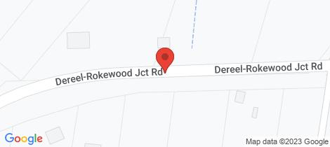 Location map for 154 Dereel-Rokewood Junction Road Dereel