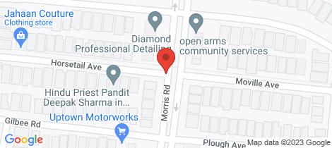 Location map for 10 Horsetail Avenue Truganina