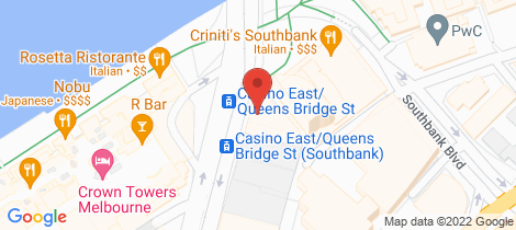 Location map for 1707/83 Queensbridge St Southbank