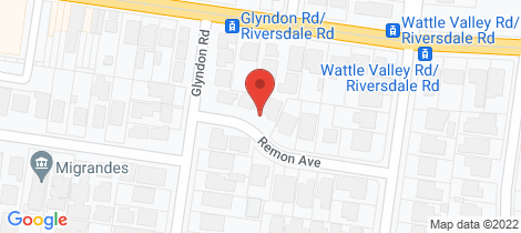 Location map for 1A Remon Avenue Camberwell