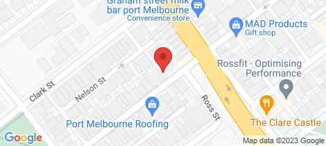 Location map for 67 Albert Street Port Melbourne