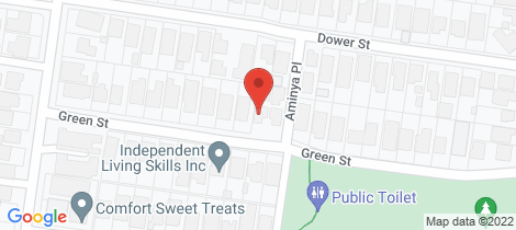 Location map for 1/17 Green Street Camberwell