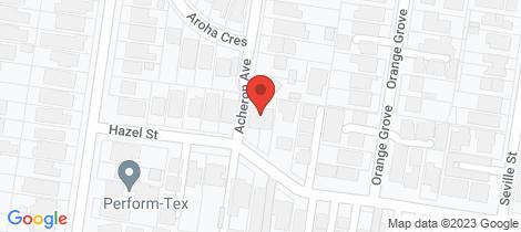 Location map for 37 Acheron Avenue Camberwell