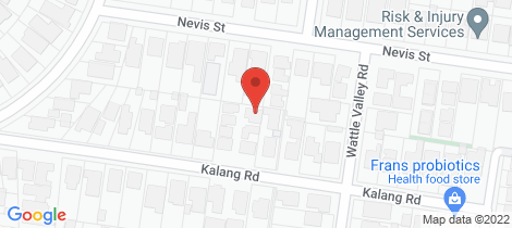 Location map for 2/17A Kalang Road Camberwell
