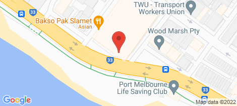 Location map for 42/85 Rouse Street Port Melbourne