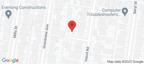 Location map for 1 Ranelagh Court Glen Iris