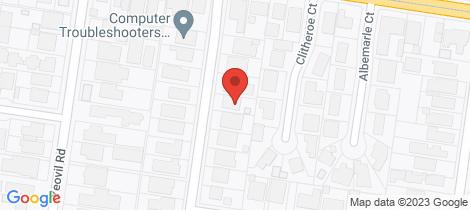 Location map for 7 Beryl Street Glen Iris