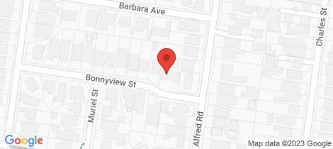 Location map for 21 Bonnyview Street Glen Iris