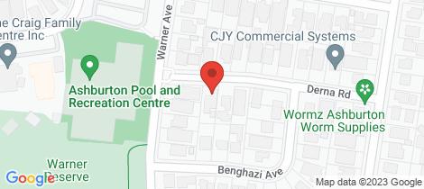 Location map for 2A Derna Road Ashburton