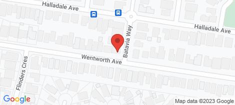 Location map for 37 Wentworth Avenue Wyndham Vale