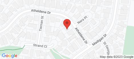 Location map for 60 Atheldene Drive Glen Waverley