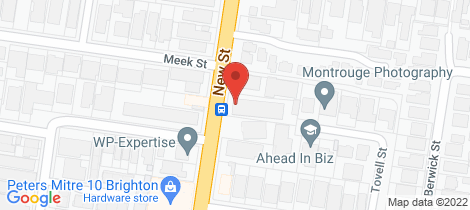Location map for 10/344 New Street Brighton