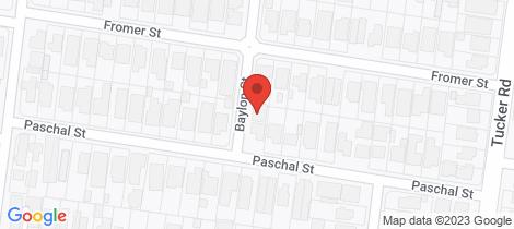 Location map for 2 Baylon Street Bentleigh