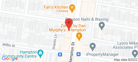 Location map for 407 Hampton Street Hampton